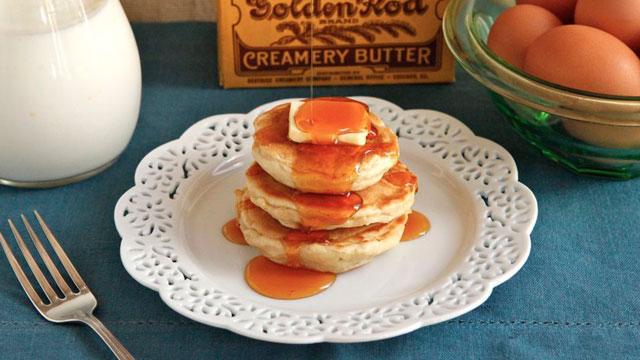 Buttermilk Griddle Cakes recipe