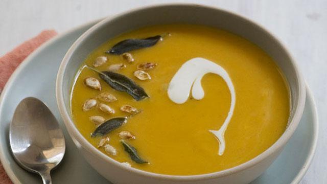 Curry Sage Butternut Squash recipe