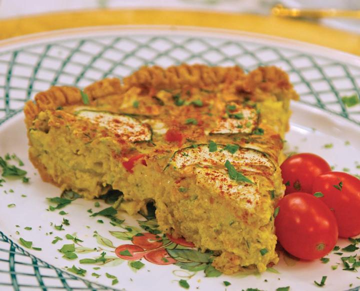 Summer Zucchini Quiche recipe