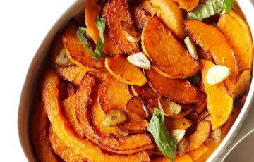 Marinated Winter Squash recipe