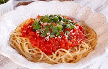 Spaghetti al Pomodoro recipe