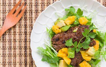 Tropical Beef Salad recipe