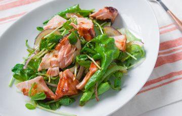 Hoisin Salmon Salad recipe