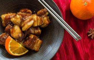 Orange-Spice Braised Pork Belly recipe