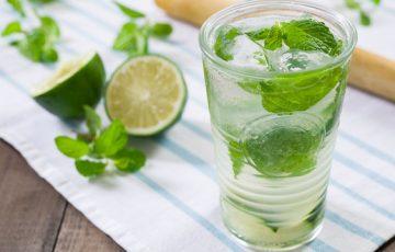 Minty Gin Rickey Recipe