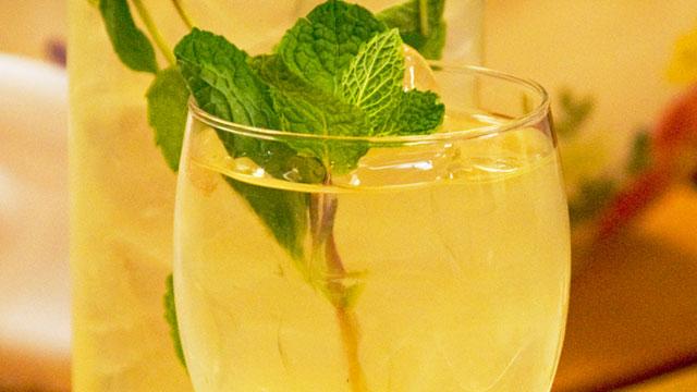 Minty Fresh Lemonade