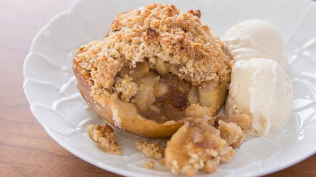 Crustless Apple Pie recipe