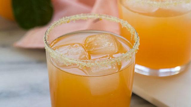 Satsuma Orange Margaritas recipe