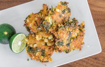 Corn and Crab Fritter recipe