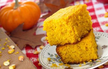 Roasted Squash Cornbread recipe