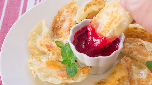 Banana Cheesecake Potsticker recipe