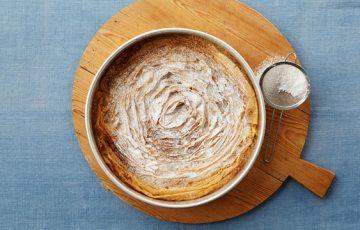 Ruffled Milk Pie recipe