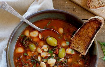 Lima Bean Stew recipe