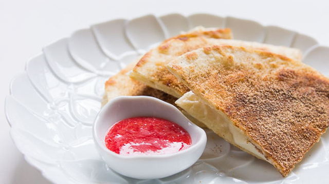 Cheesecakedilla recipe