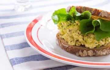 Vegan Egg Salad Sandwich recipe