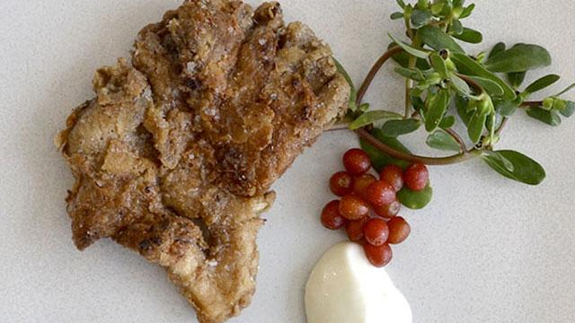Fried Woodlawn Mushrooms recipe