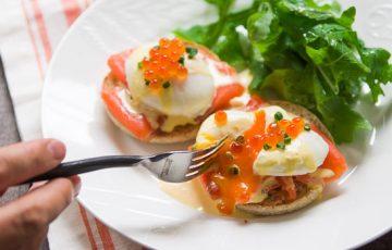 Eggs Royale recipe