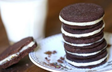 Homemade Healthier Oreos recipe