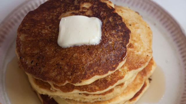 Sweet Corn Pancakes recipe