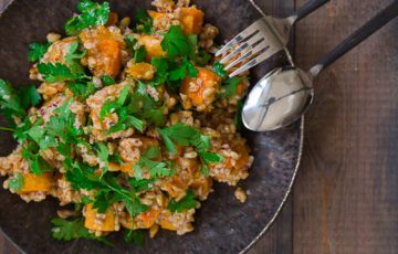Butternut Squash and Farro Salad recipe