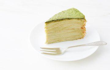 Green Tea Crepe Cake recipe