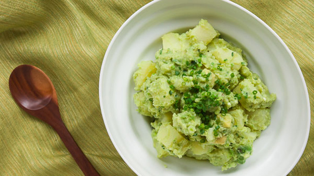 Green Potato Salad recipe