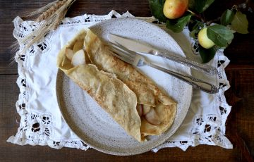 Rye Crepes recipe