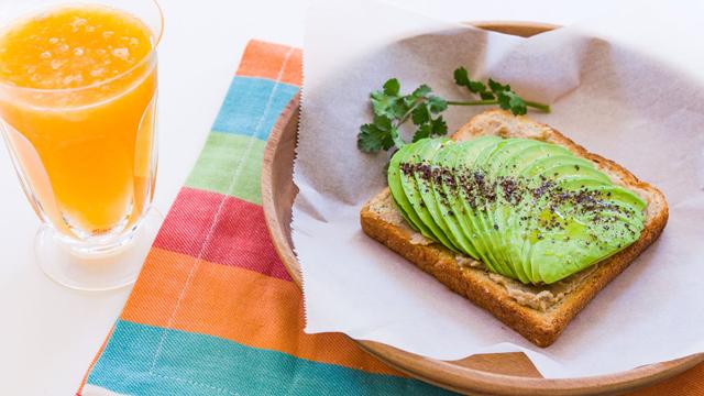 Avocado Sesame Toast recipe