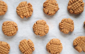 Flourless Peanut Butter Cookies recipe