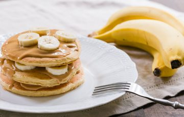 Peanut Butter Banana Pancakes Recipe