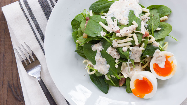Quiche Salad Recipe