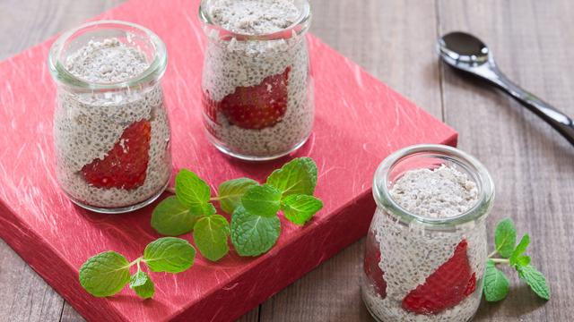 Strawberry Chia Parfait Recipe