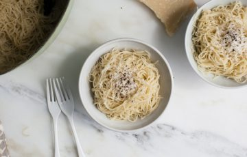 Angel Hair Cacio e Pepe Recipe