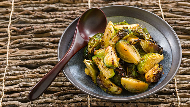 Honey Caraway Brussels Sprouts Recipe