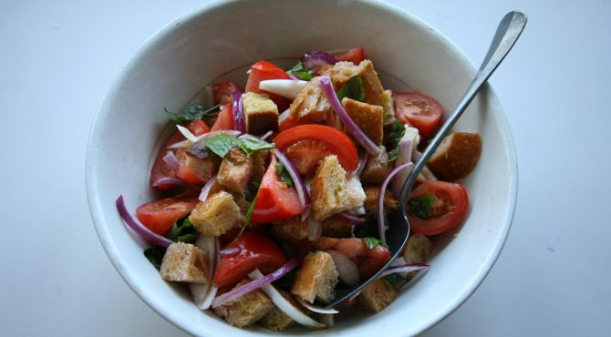 Tomato and Bread Salad