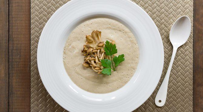 Vegan Mushroom Soup Recipe