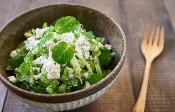 green tomato salad