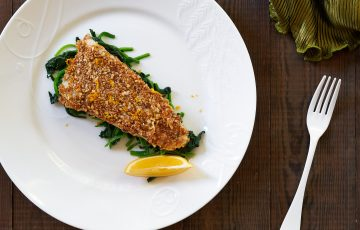 Almond Crusted Sole