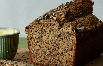 Seeded Savory Quickbread Recipe