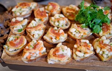 Cannellini and Pancetta Bruschetta