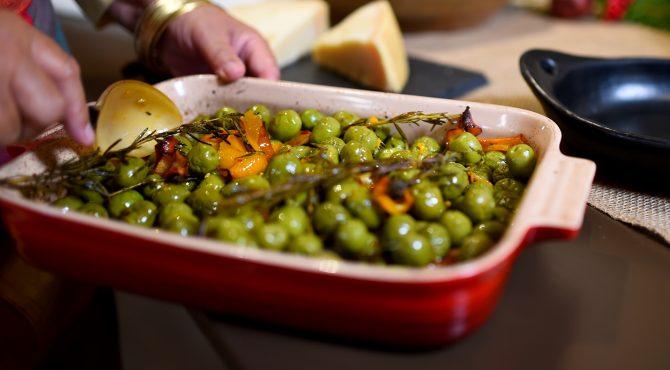 Roasted Olives with Orange and Rosemary