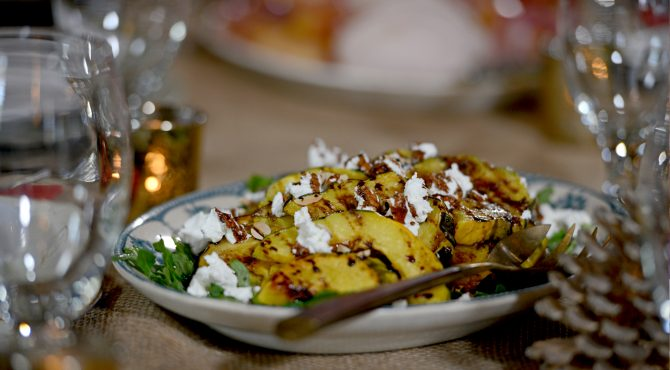 Roasted Butternut Squash with Balsamic Reduction